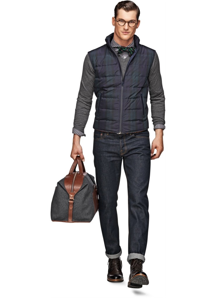 Coats_Green_Check_Bodywarmer_Bw013_Suitsupply_Online_Store_1