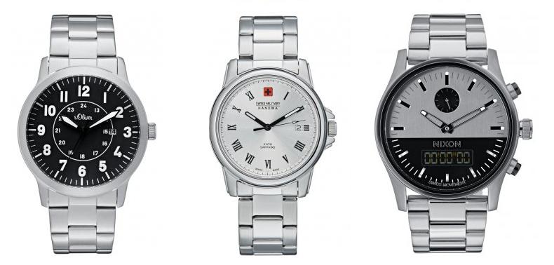 zegarki srebrne