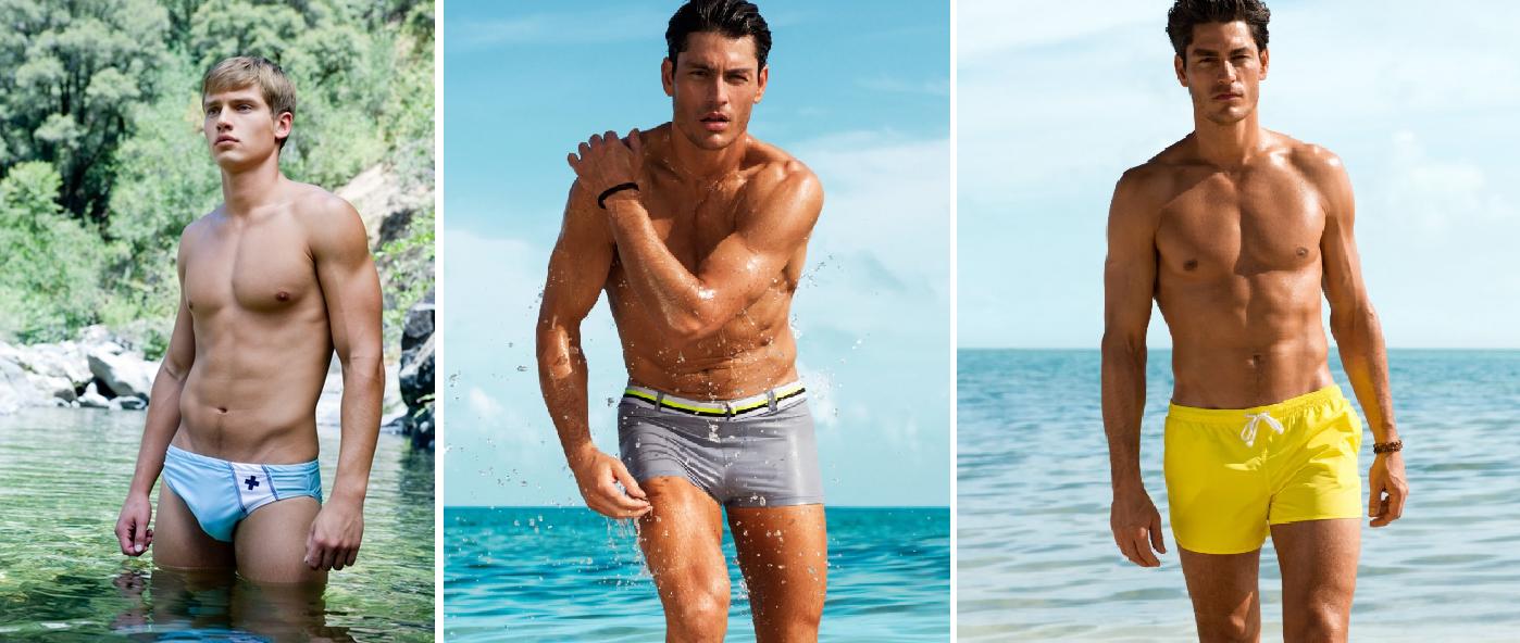 moda plażowa kąpielówki