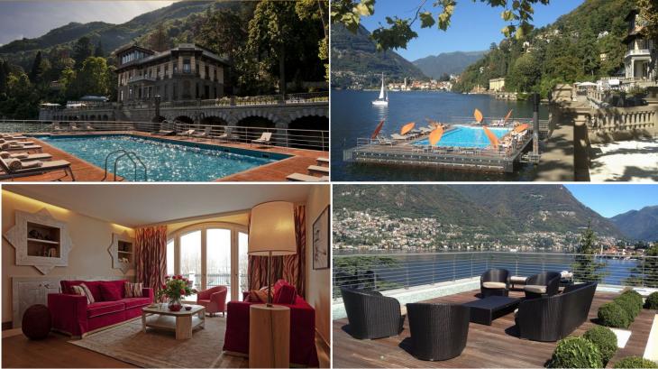 CastaDiva Resort & SPA, Jezioro Como