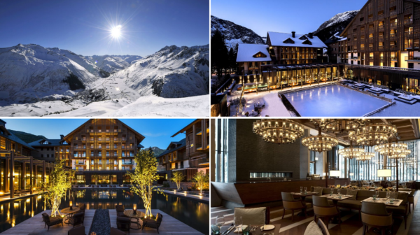 Palcem po mapie z luxury travel The Chedi Andermatt