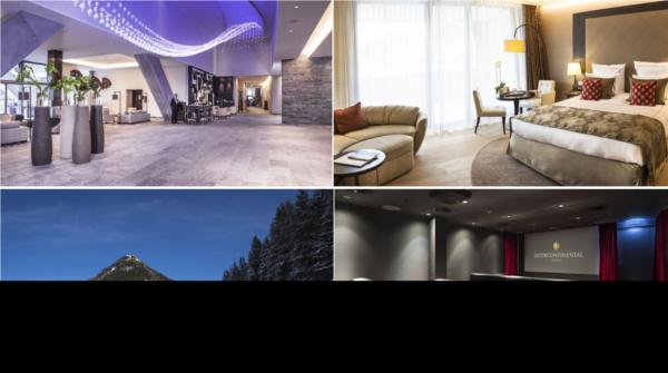 THE INTERCONTINENTAL DAVOS HOTEL, SZWAJCARIA