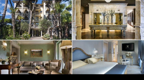 Palcem po mapie z Luxury Travel GRAND HOTEL IMPERIALE – FORTE DEI MARMI, FLORENCJA