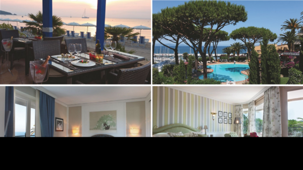 Palcem po mapie z Luxury Travel Hotel Cala del Porto - Punta Ala, Toskania