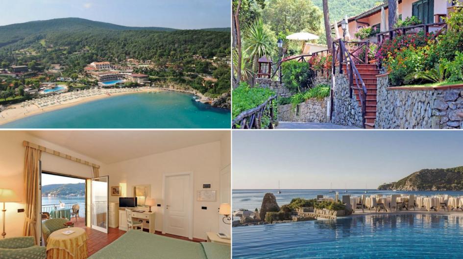 Hotel Hermitage - wyspa Elba, Toskania