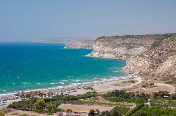 Cyprus Curium beach - view