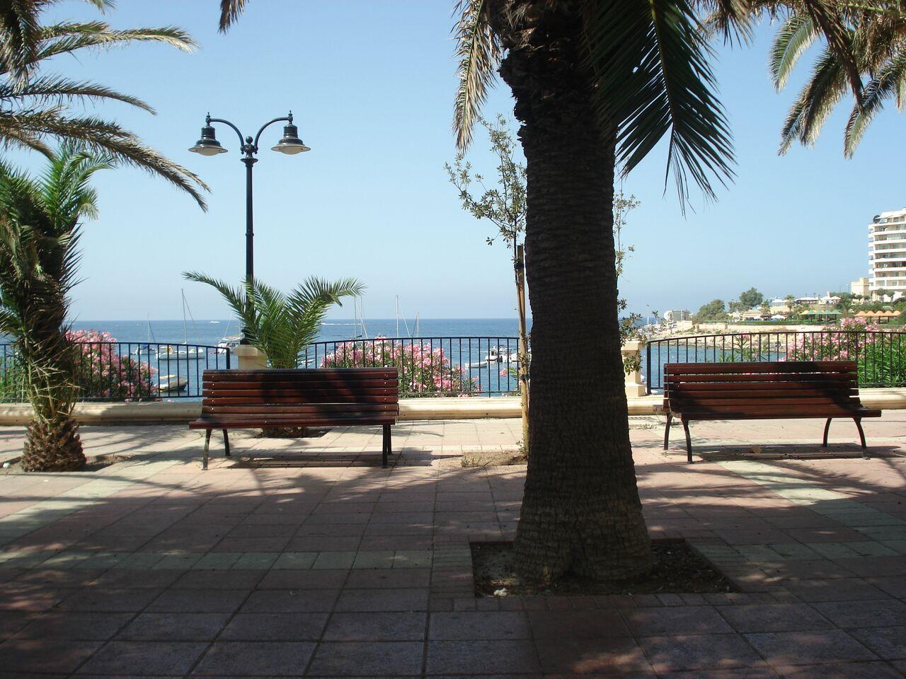 Malta Sliema promenada (2)