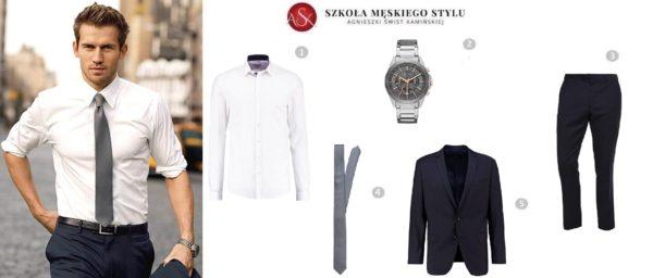 stylizacja męska krawat 1