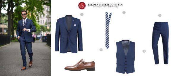 stylizacja męska ubiór do sądu