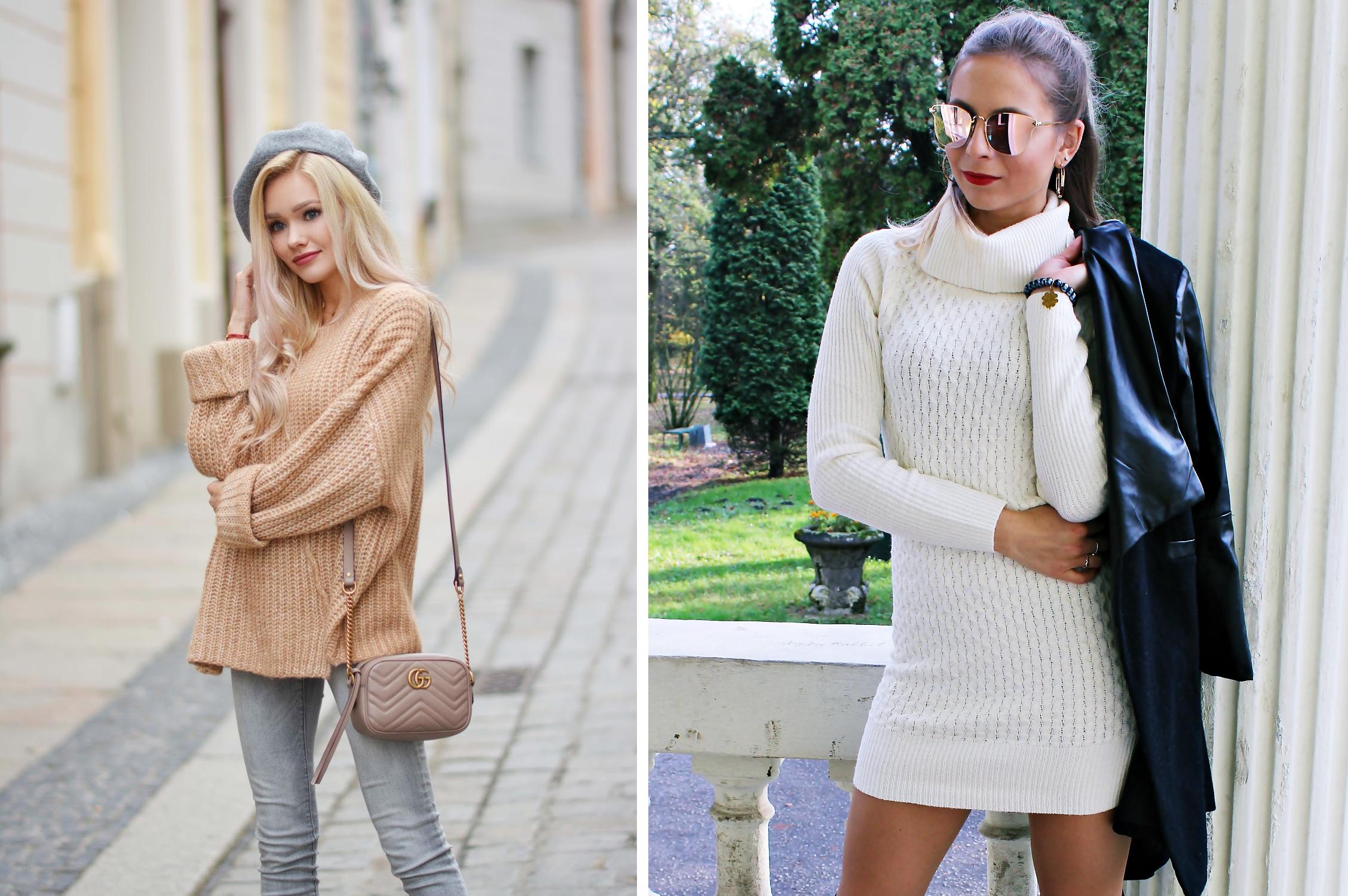 sweter blogerki