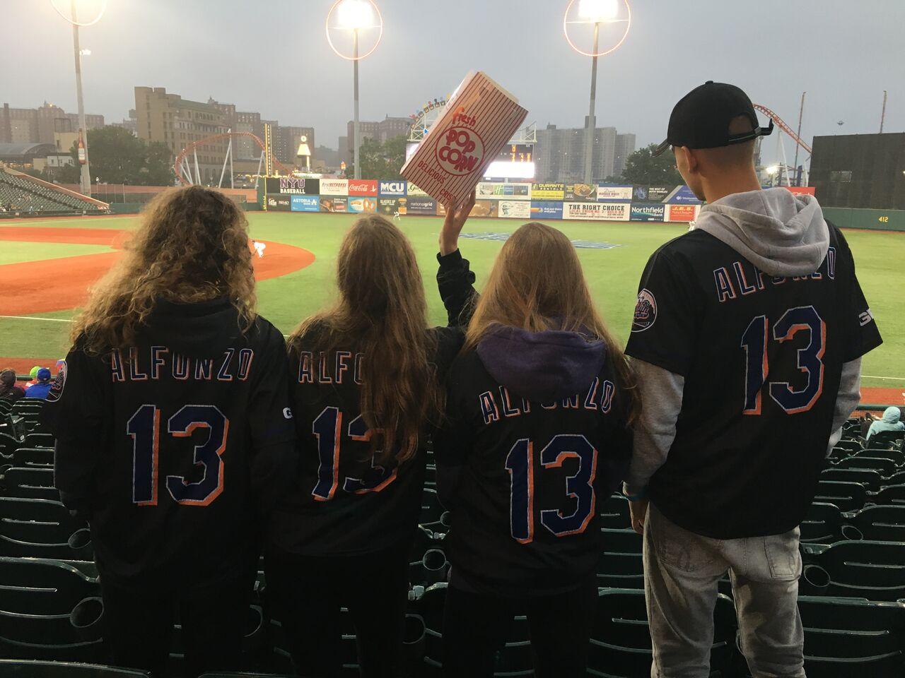 mecz baseballowy w NY - ATJ Lingwista