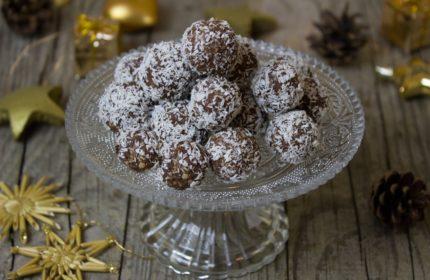 Przepis na trufle czekoladowo-kokosowe