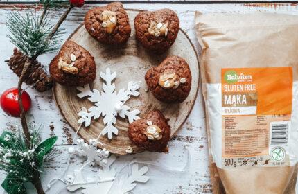 Muffinki z mąki ryżowej