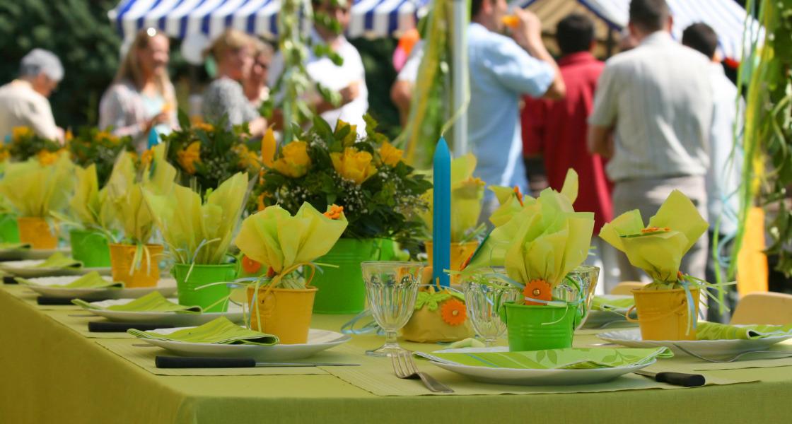 jak zorganizować imprezę w ogródku